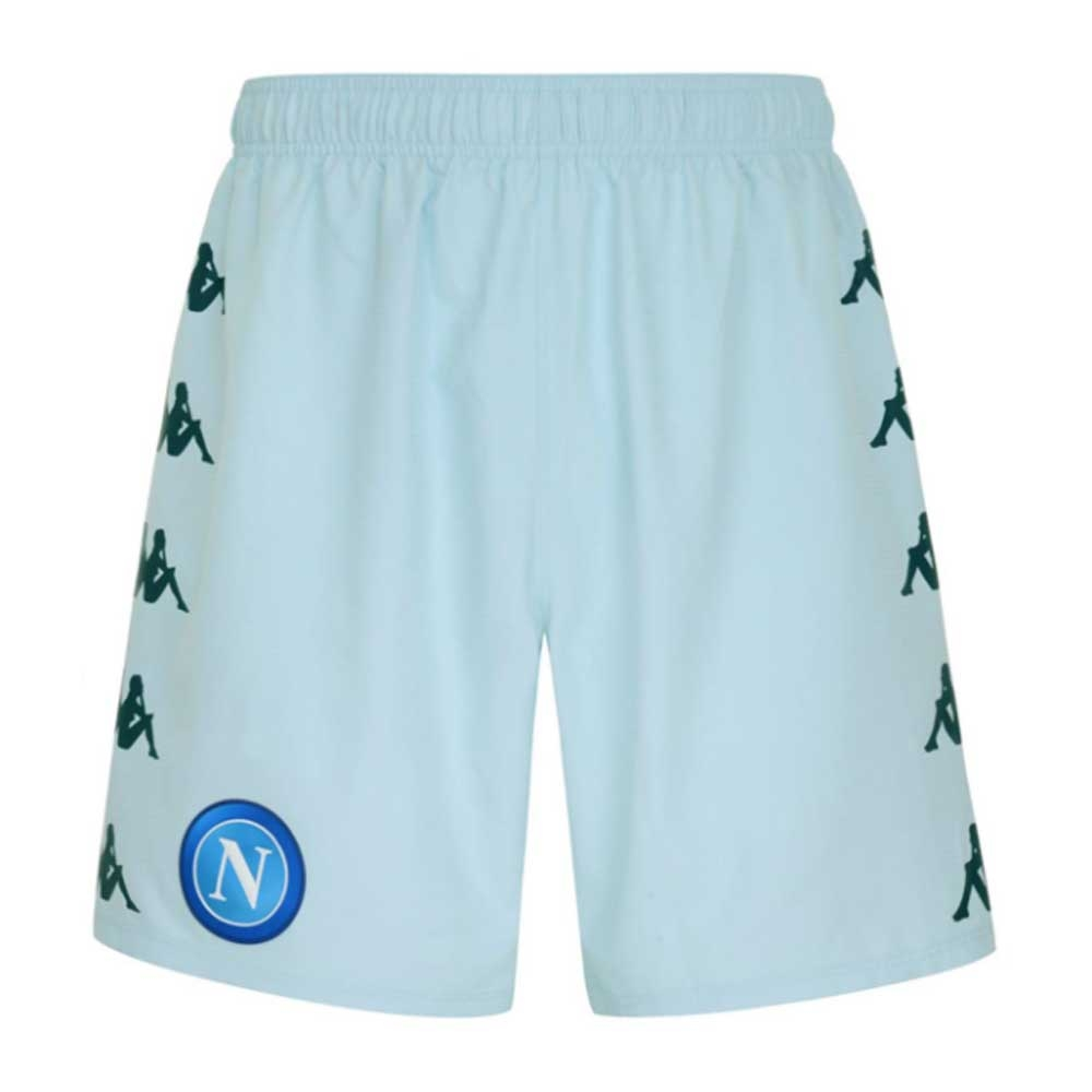 2020-2021 Napoli Away Shorts (Azure Pale)