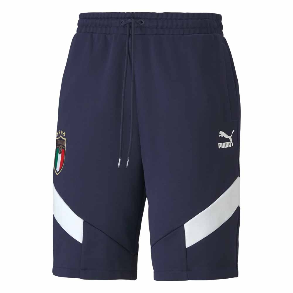 2020-2021 Italy Iconic MCS Shorts (Blue)