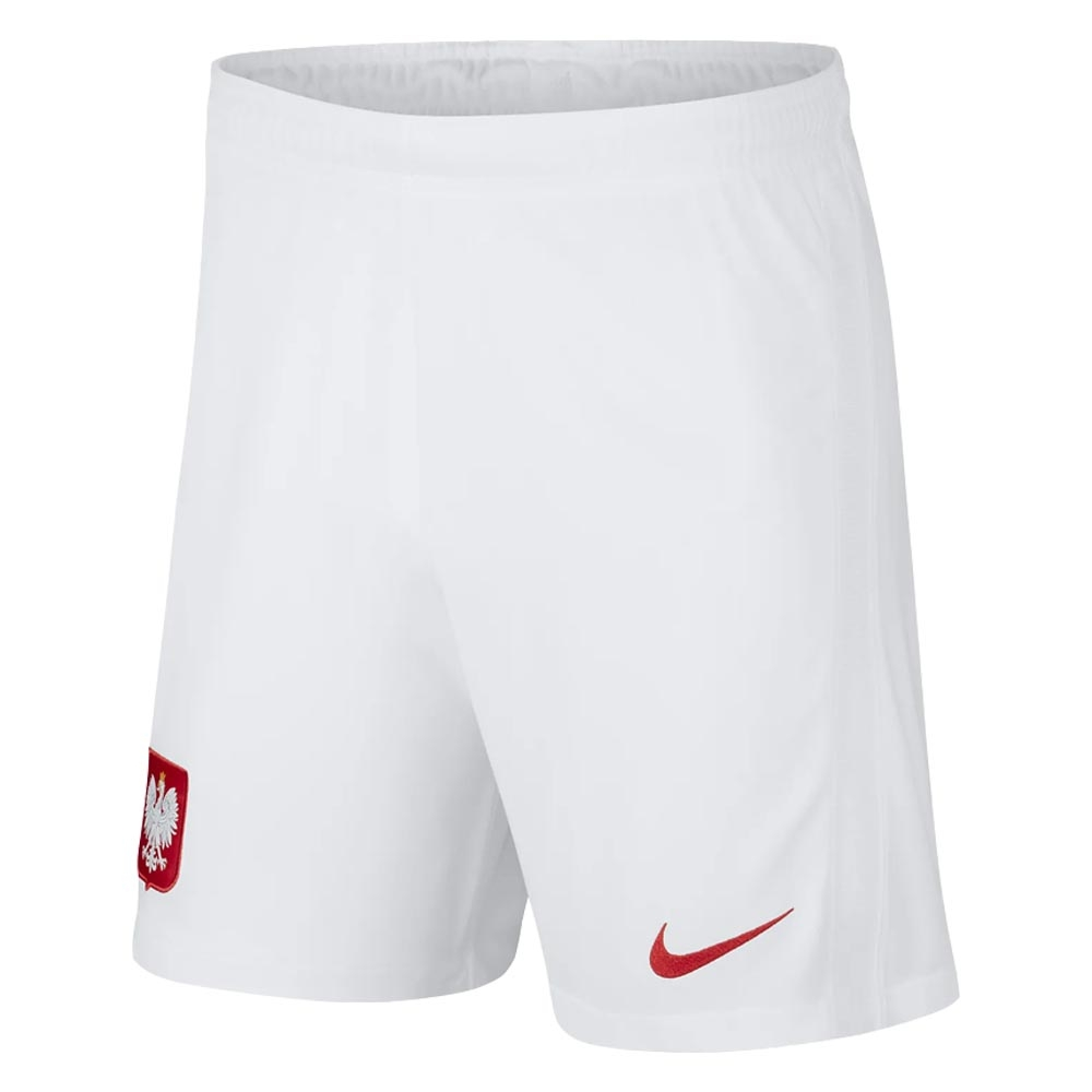 2020-2021 Poland Home Shorts (White)