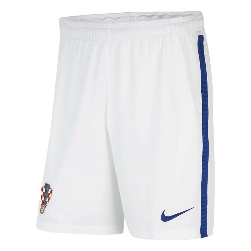 2020-2021 Croatia Home Shorts (White)
