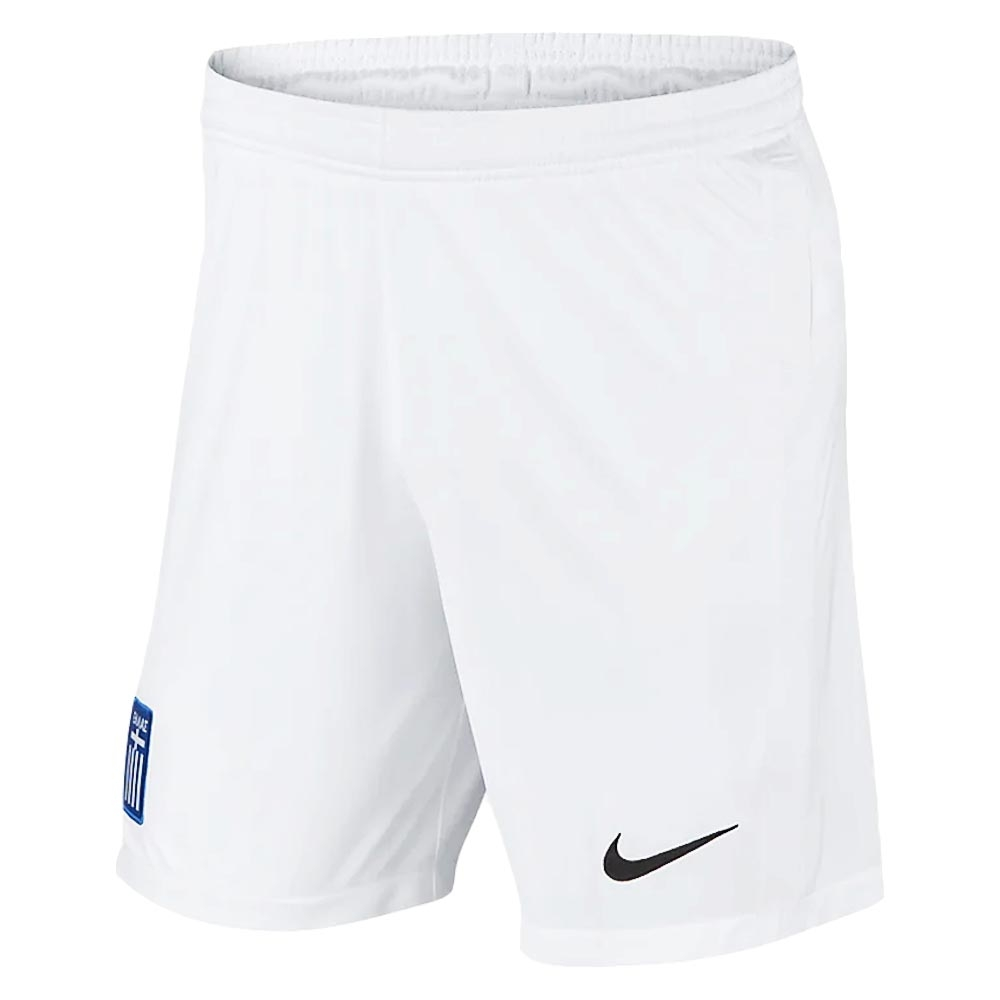 2020-2021 Greece Home Shorts (White)