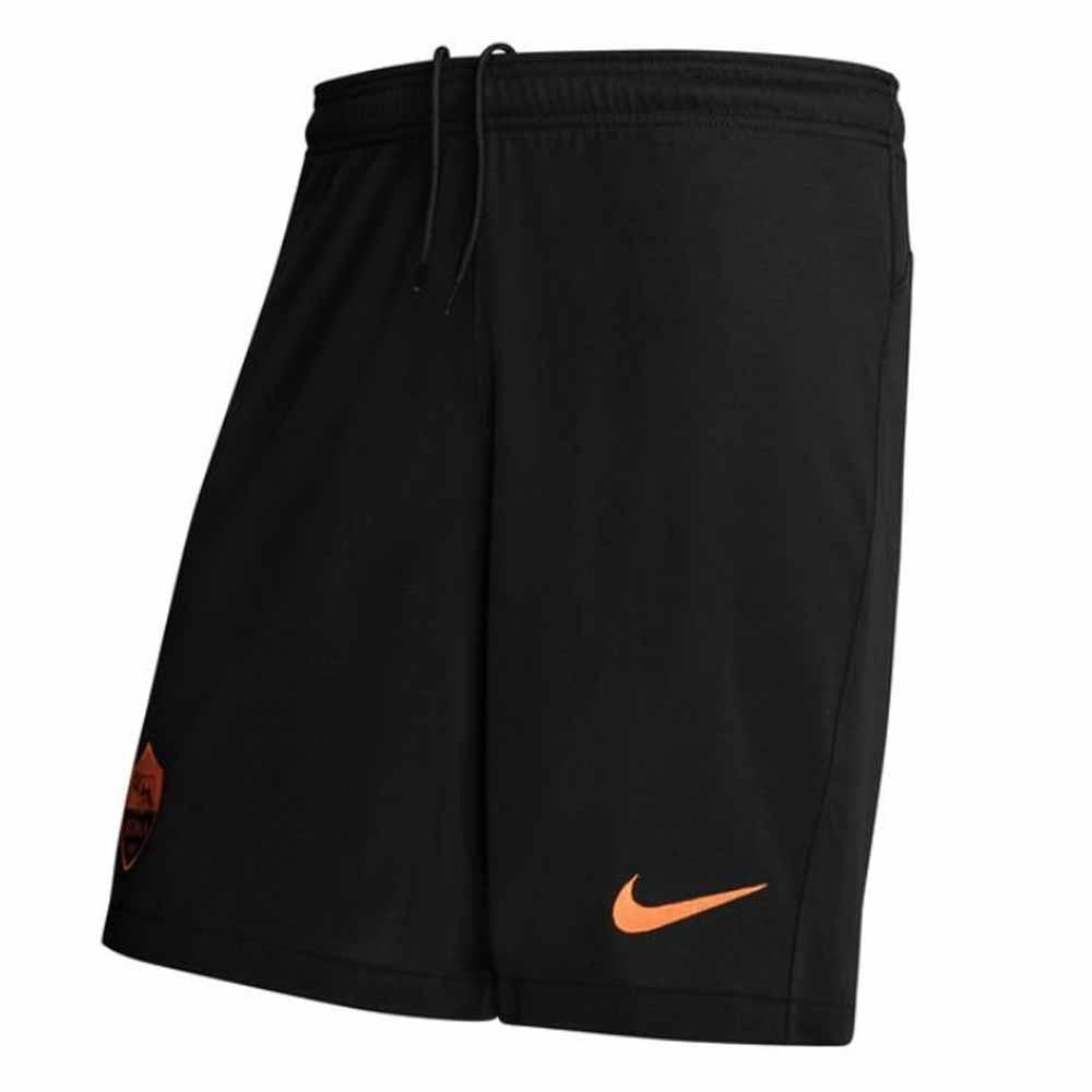 2020-2021 Roma Third Shorts (Black)