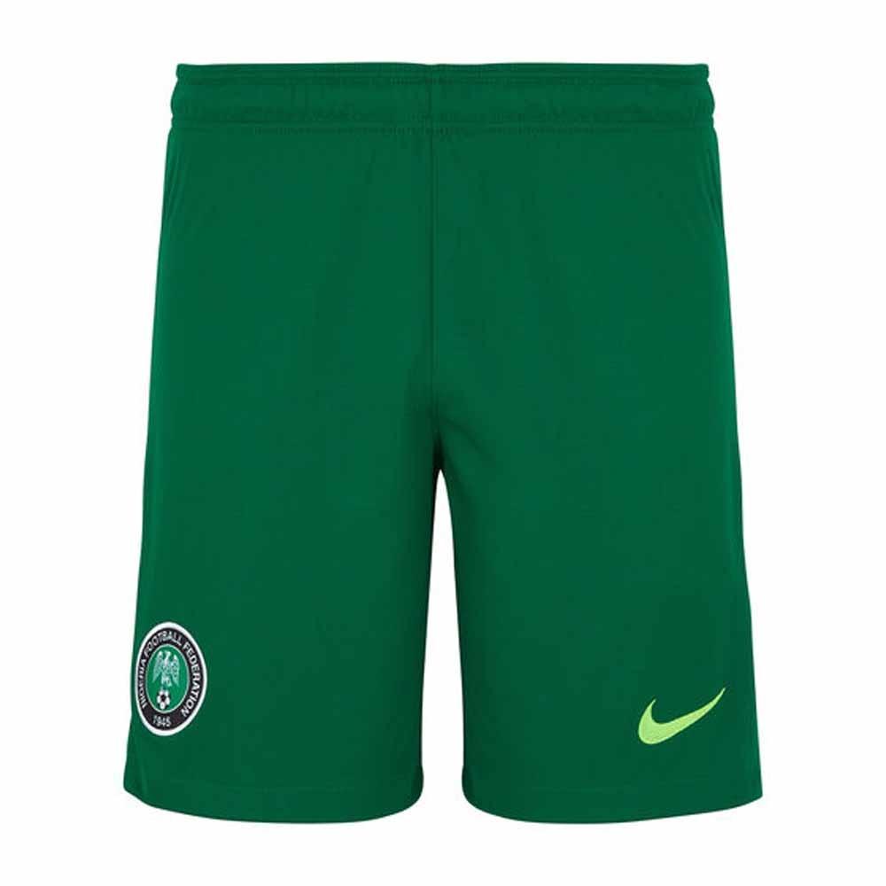 2020-2021 Nigeria Home Shorts (Green)