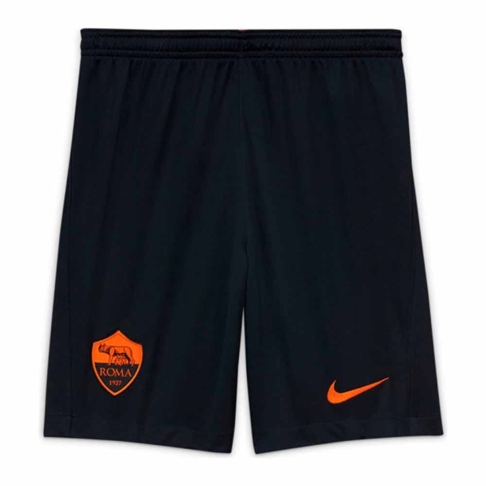 2020-2021 Roma Third Shorts (Black) - Kids