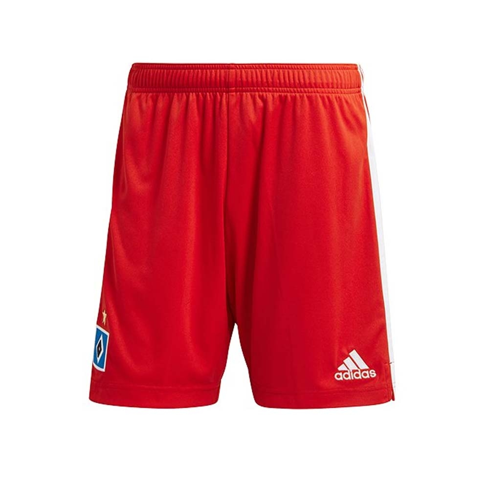 2020-2021 Hamburg Home Shorts (Red)