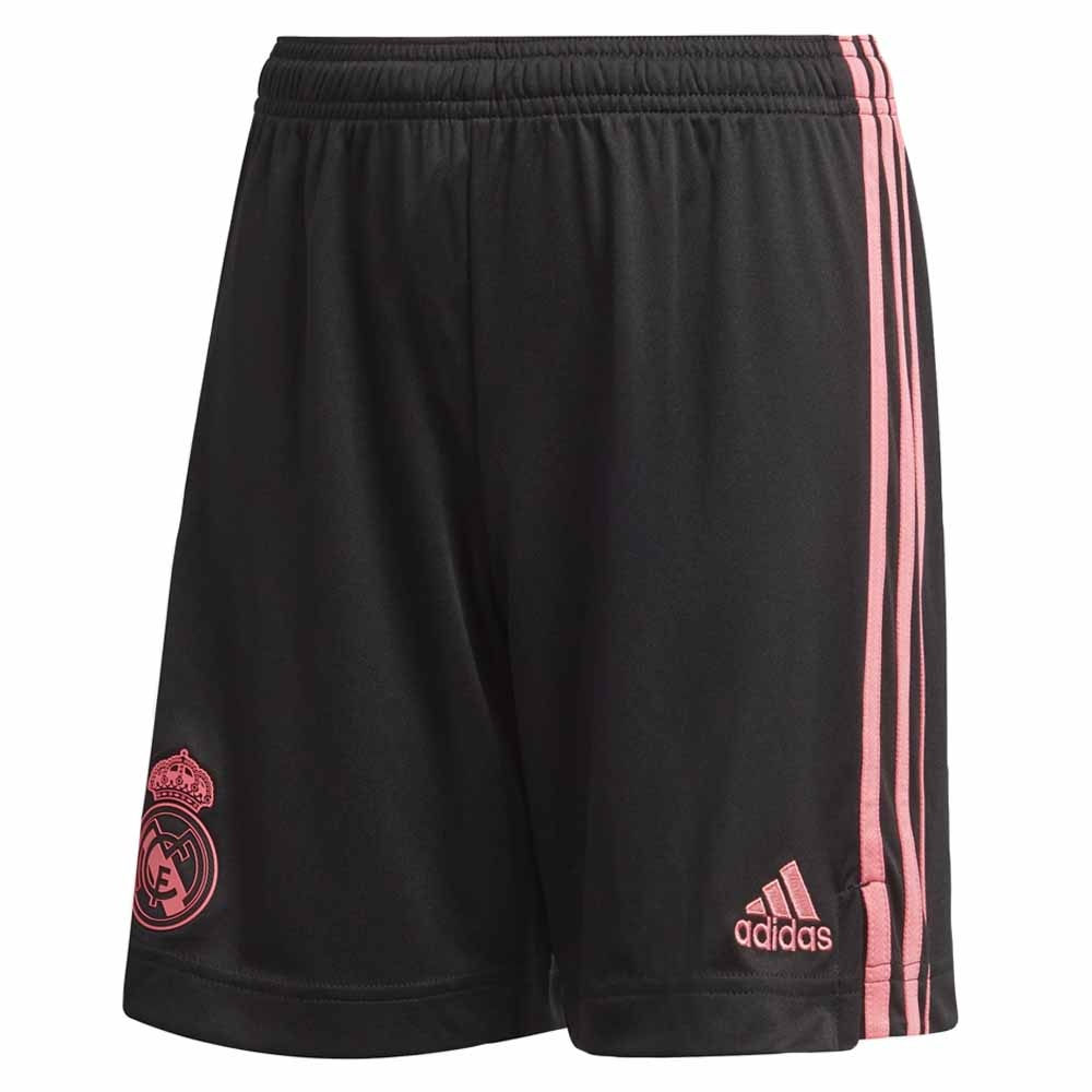 2020-2021 Real Madrid 3rd Shorts (Black) - Kids
