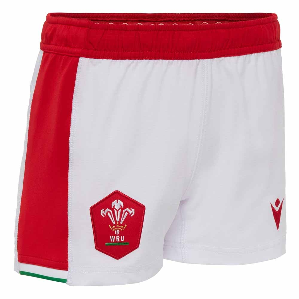 2020-2021 Wales Home Rugby Shorts (Kids)