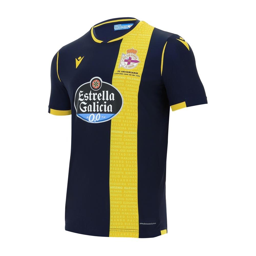 2020-2021 Deportivo La Coruna Away Shirt