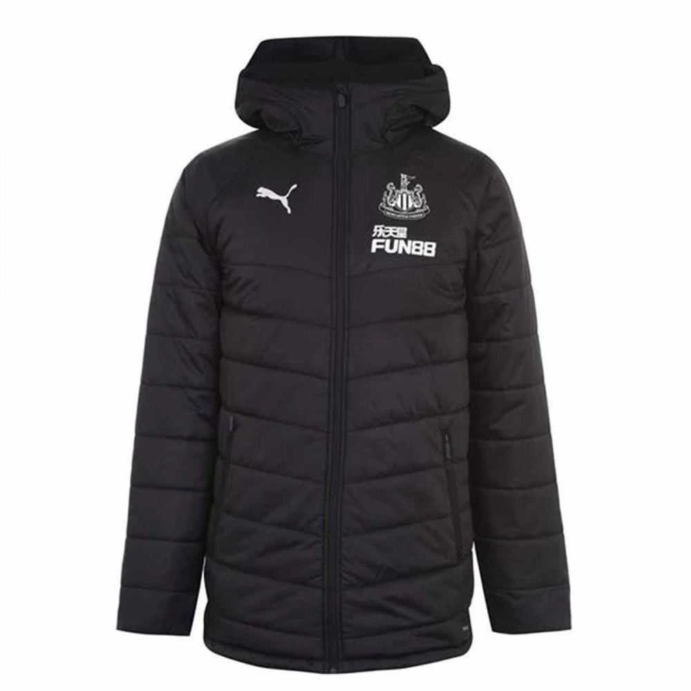 2020-2021 Newcastle Bench Coat (Black)