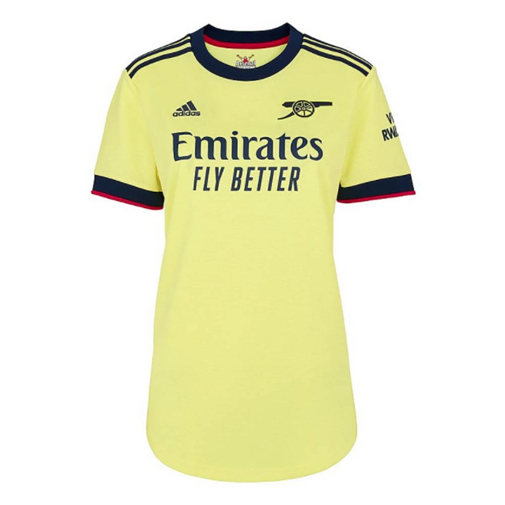 Arsenal 2021-2022 Away Shirt (Ladies)
