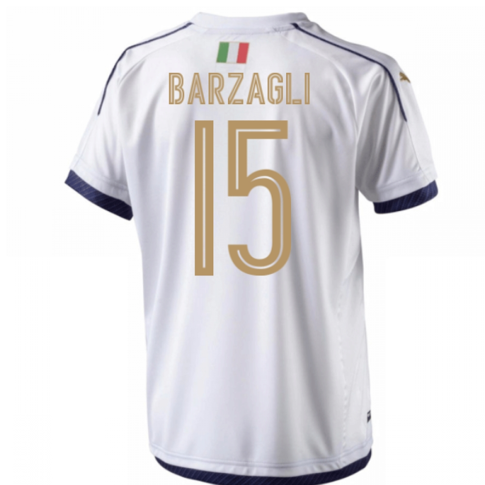 Image of 2006 Italy Tribute Away Shirt (Barzagli 15)