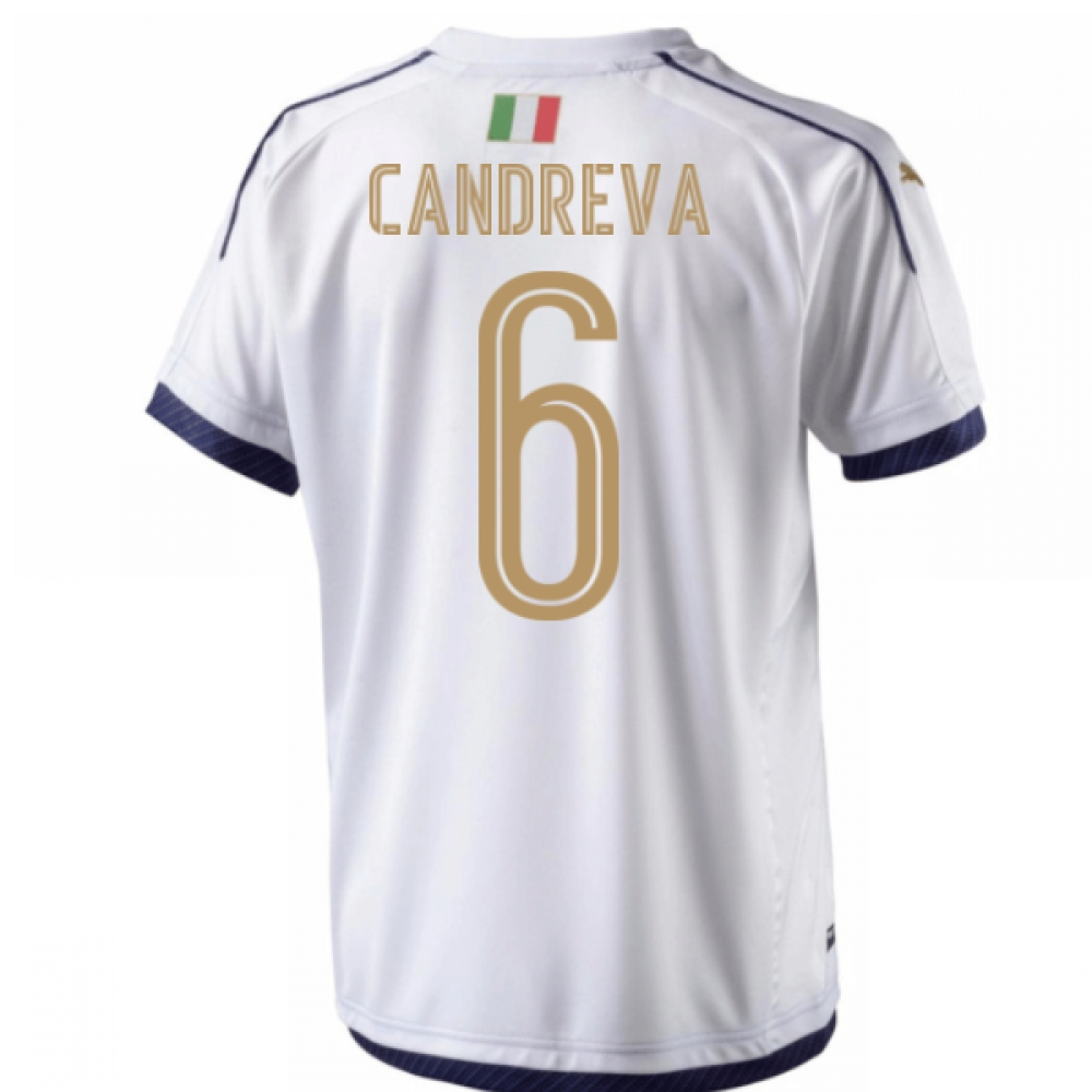 Image of 2006 Italy Tribute Away Shirt (Candreva 6)