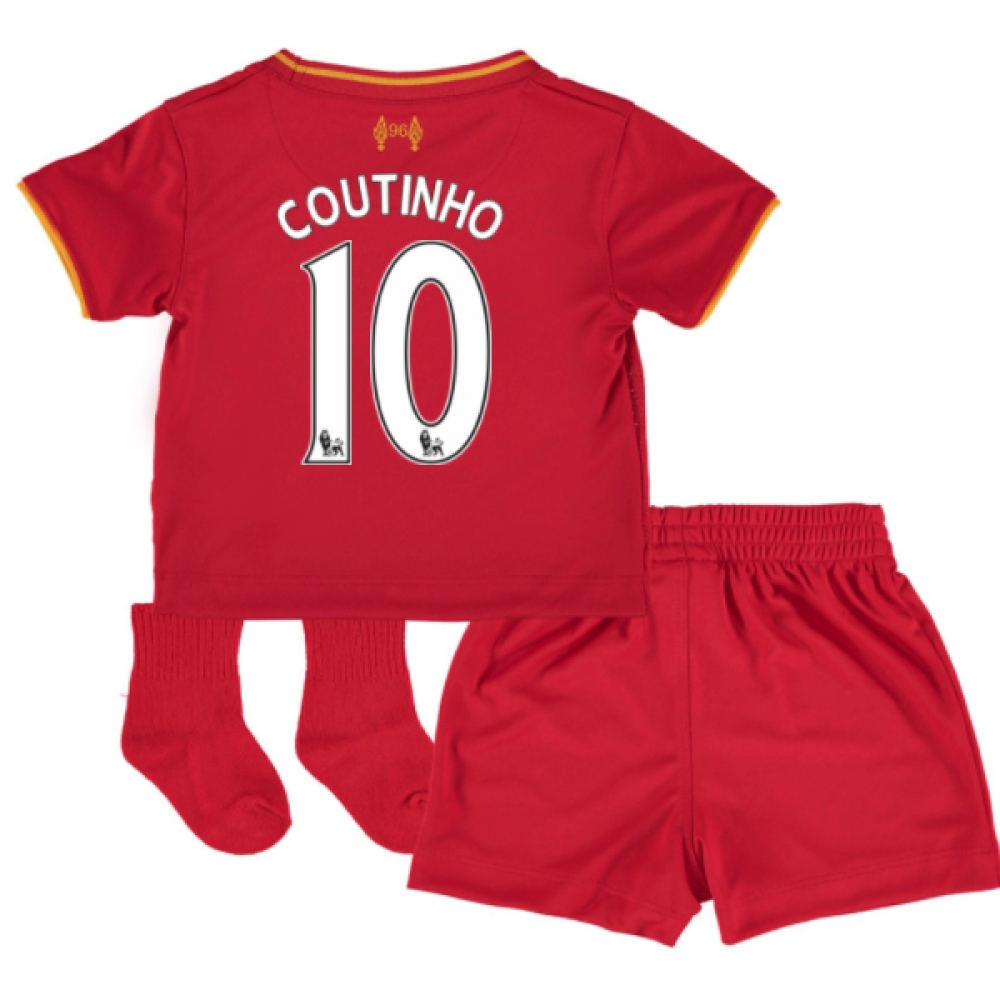 201617 Liverpool Home Baby Kit (Coutinho 10)