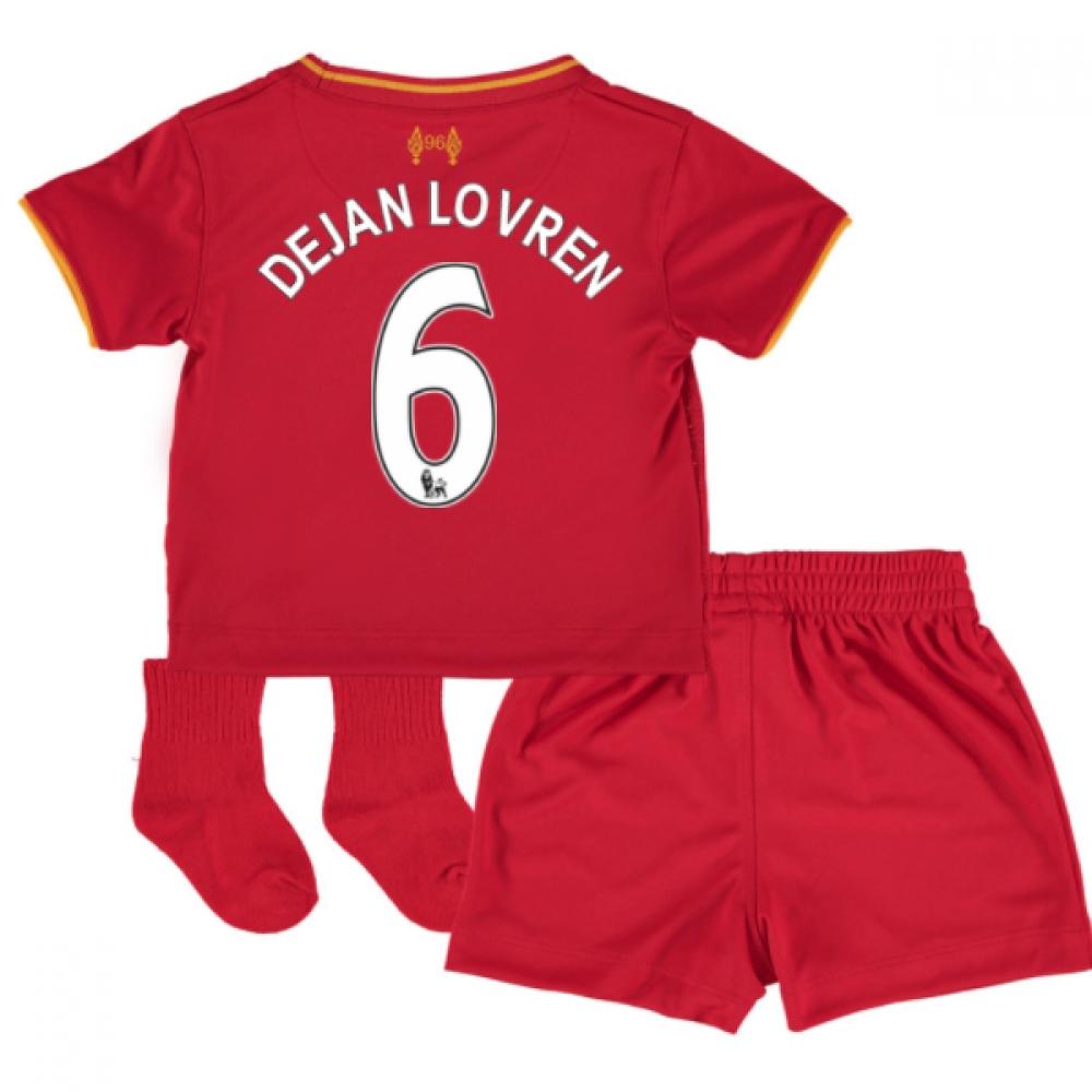 201617 Liverpool Home Baby Kit (Dejan Lovren 6)