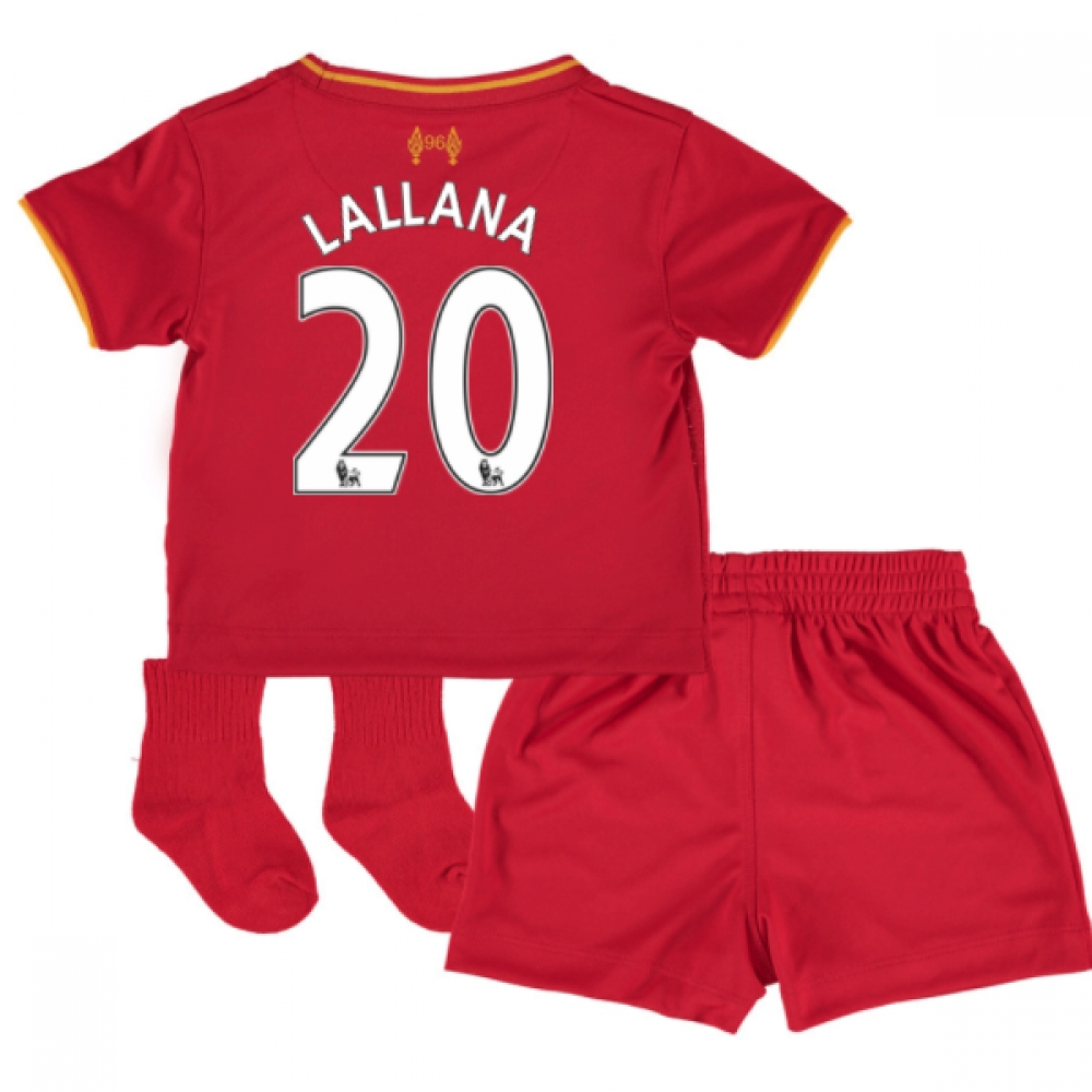 201617 Liverpool Home Baby Kit (Lallana 20)