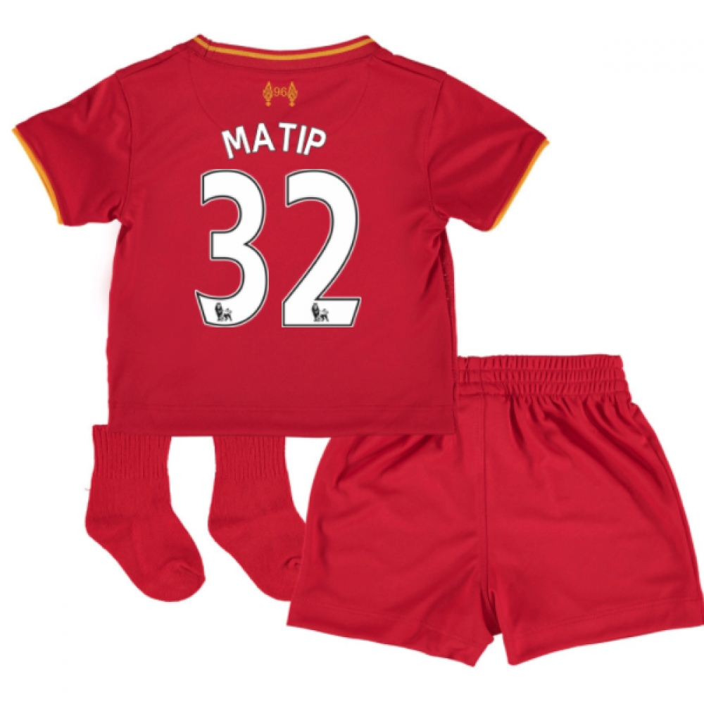 201617 Liverpool Home Baby Kit (Matip 32)