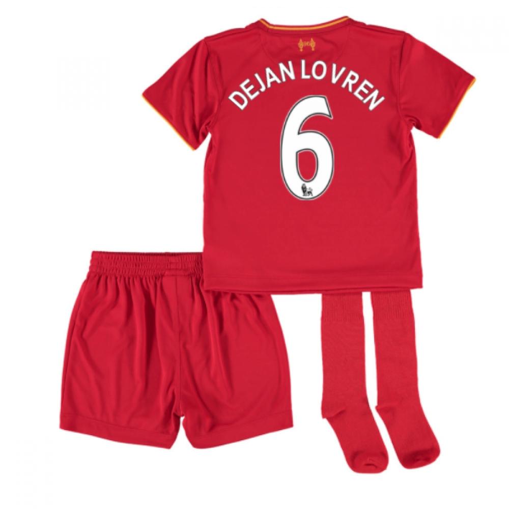 201617 Liverpool Home Mini Kit (Dejan Lovren 6)