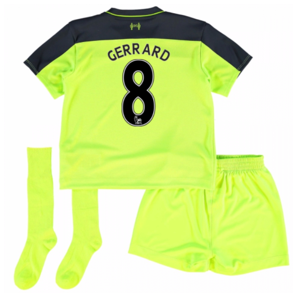201617 Liverpool Third Mini Kit (Gerrard 8)