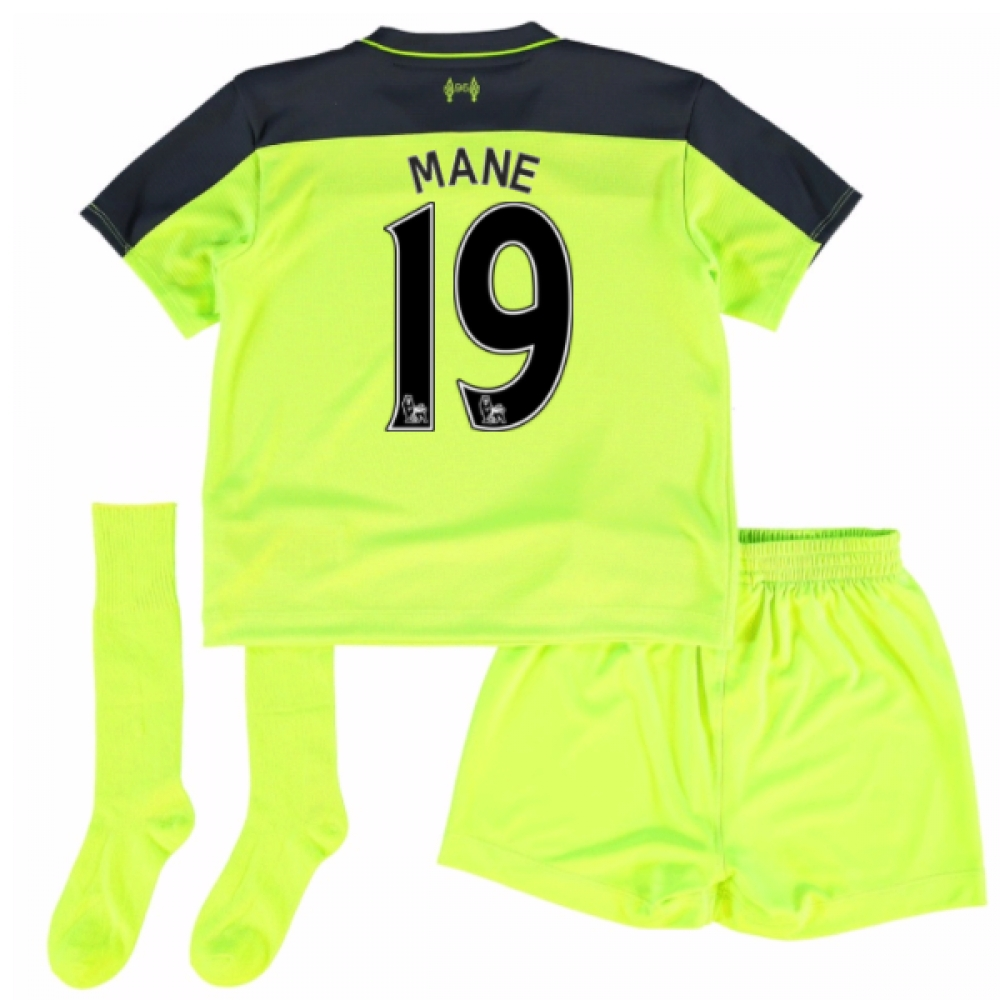201617 Liverpool Third Mini Kit (Mane 19)