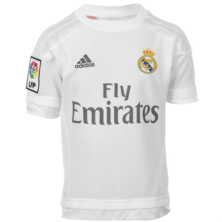 2d2257a0f68 Lyst - Adidas 2017-18 Real Madrid Away Long Sleeve Shirt - Kids real madrid  sweatshirt kids