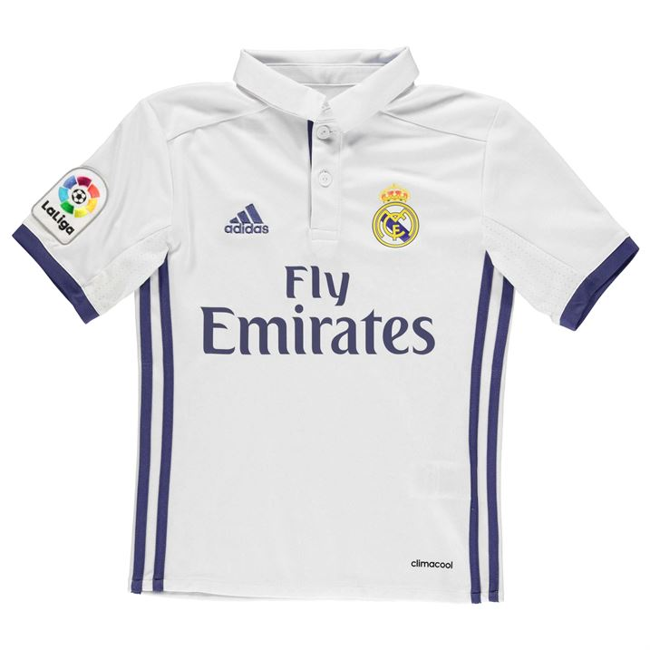169e0c1f786 2016-2017 Real Madrid Adidas Home Shirt (Kids)  AI5189  - Uksoccershop