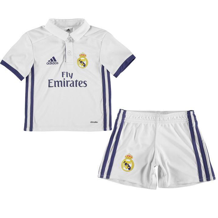 32516012186 2016-2017 Real Madrid Adidas Home Mini Kit  AI5192  - Uksoccershop