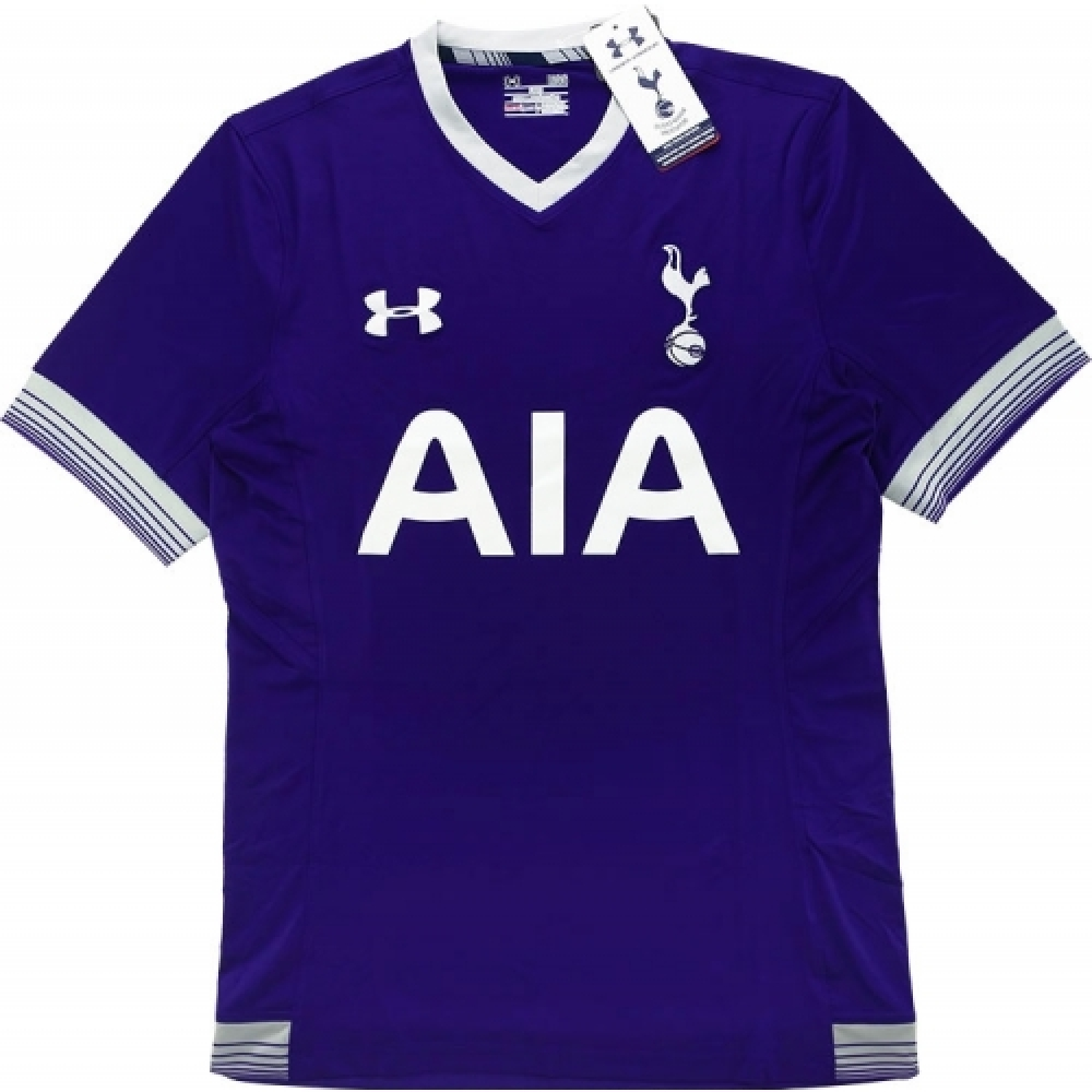 2015-16 Tottenham Under Armour Authentic Third Football Shirt
