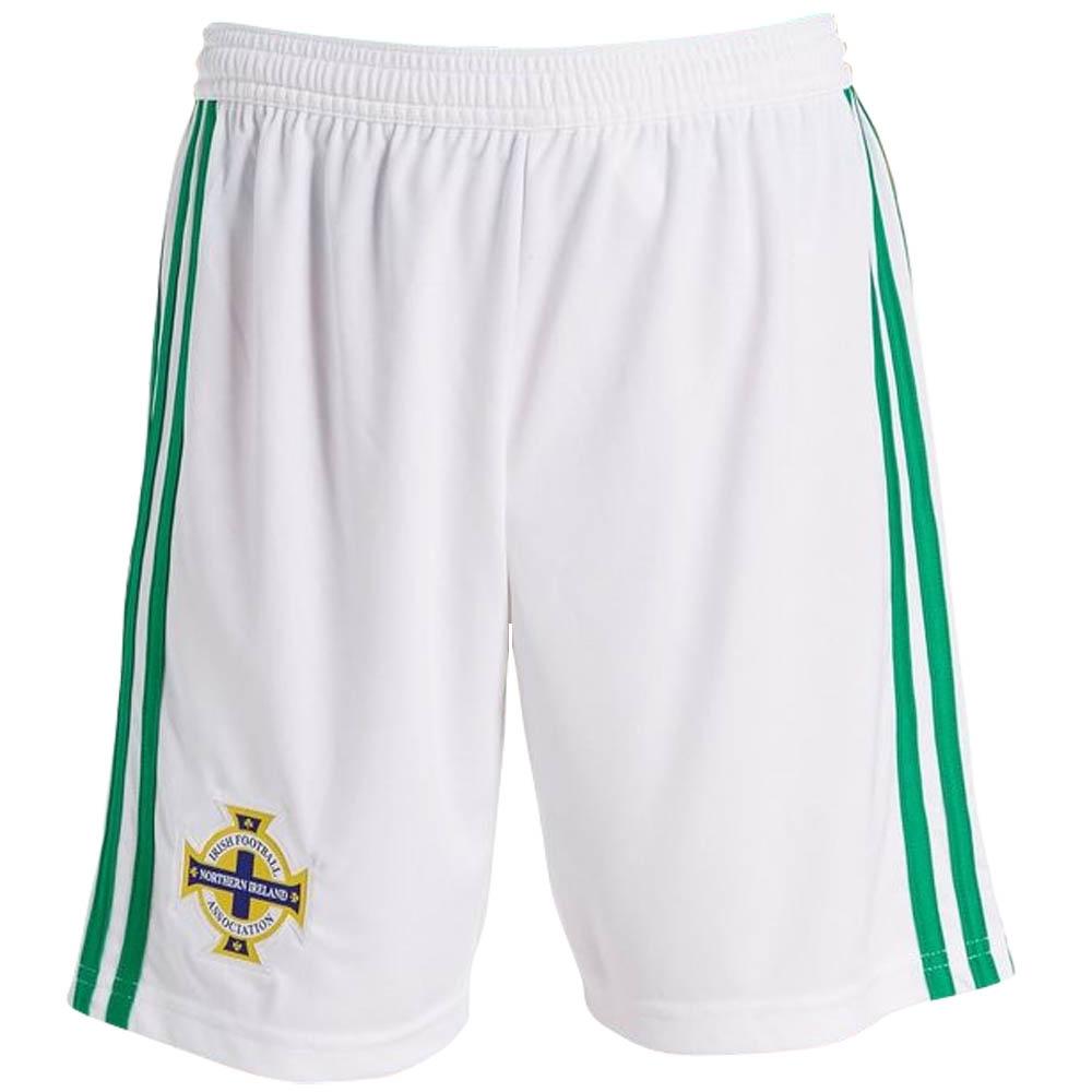 2018-19 Northern Ireland Adidas Home Football Shorts