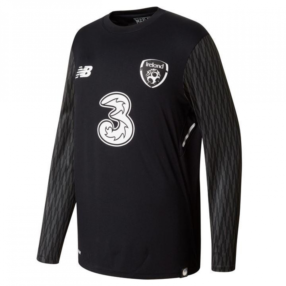 2017-18 Ireland New Balance Away Goalkeeper Shirt (Kids)