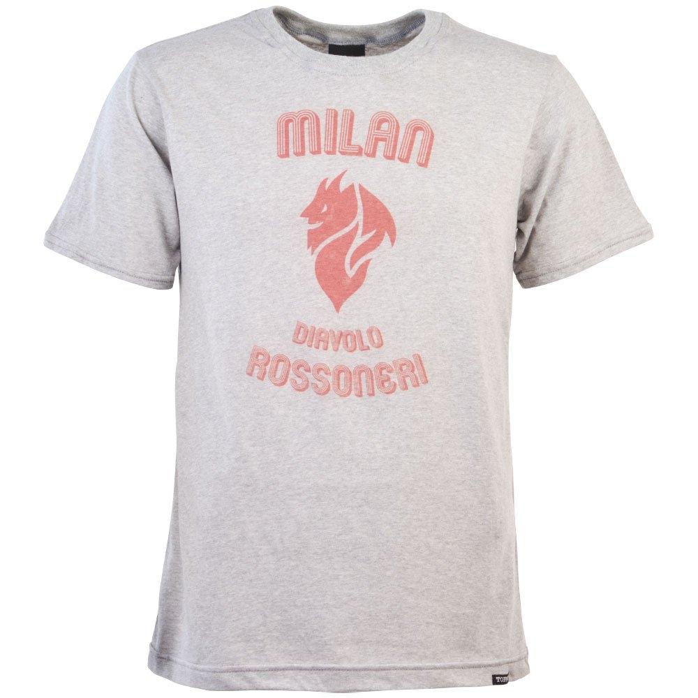 Ac Milan Rossoneri Diavolo T Shirt Grey Marl Toffsprint0256 Uksoccershop