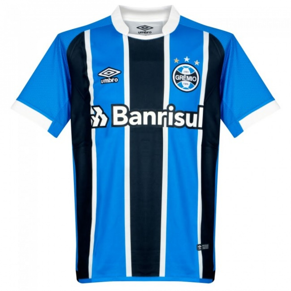 2017-18 Gremio Umbro Home Football Shirt