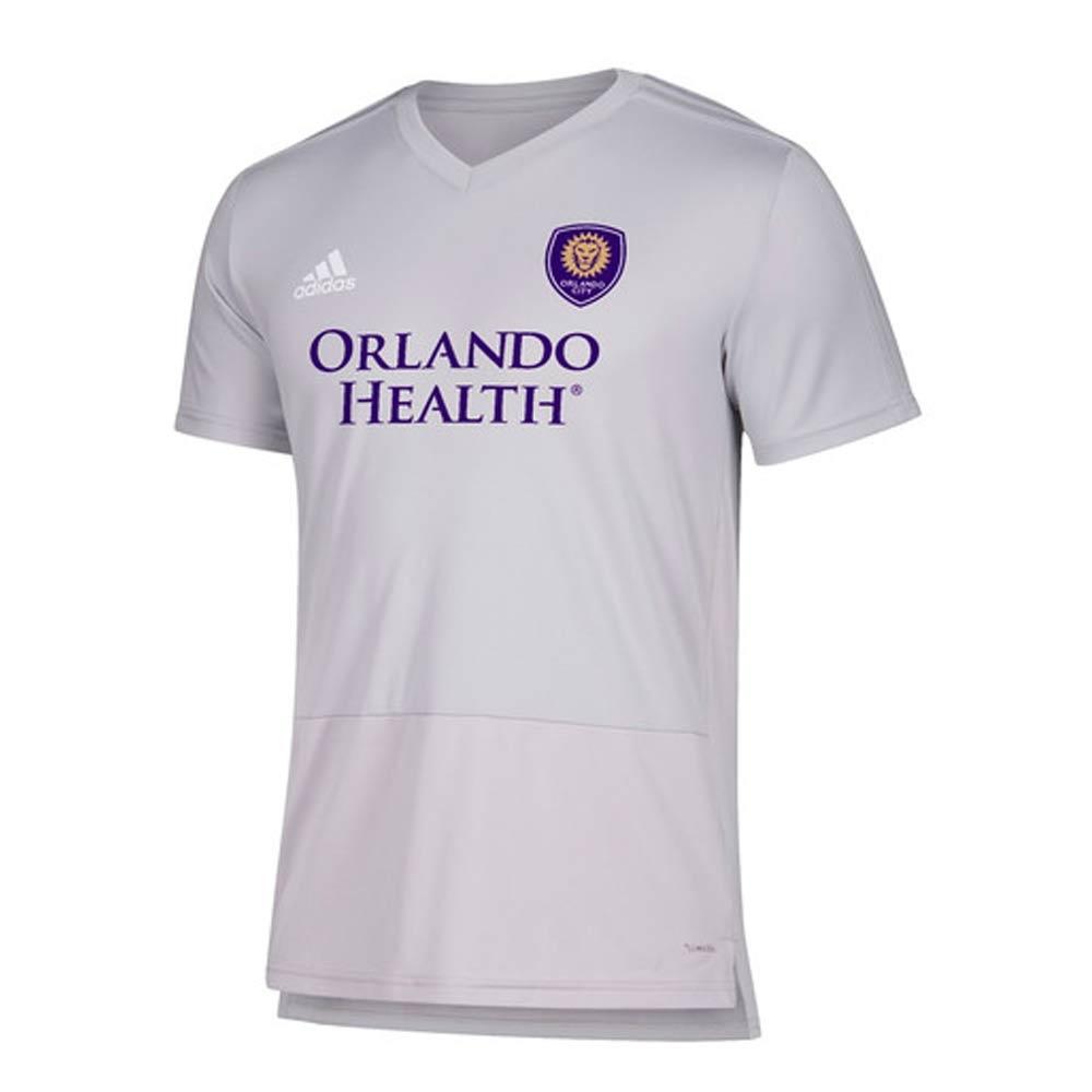 buy popular 8247c fec9f 2018 Orlando City Adidas Trainng Top (Light Grey)