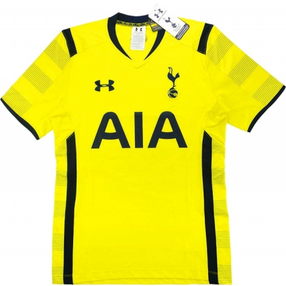 2014-15 Tottenham Hotspur Under Armour Authentic Third Football Shirt