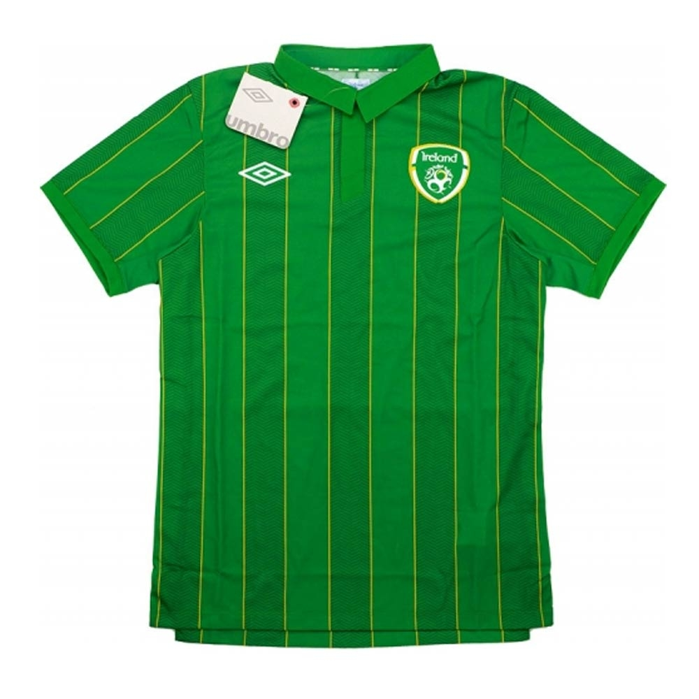 2011-12 Ireland Umbro Home Authentic Football Shirt