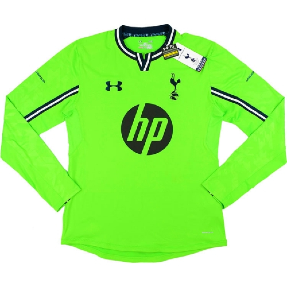 2013-14 Tottenham Hotspur Under Armour Authentic Away Goalkeeper Shirt