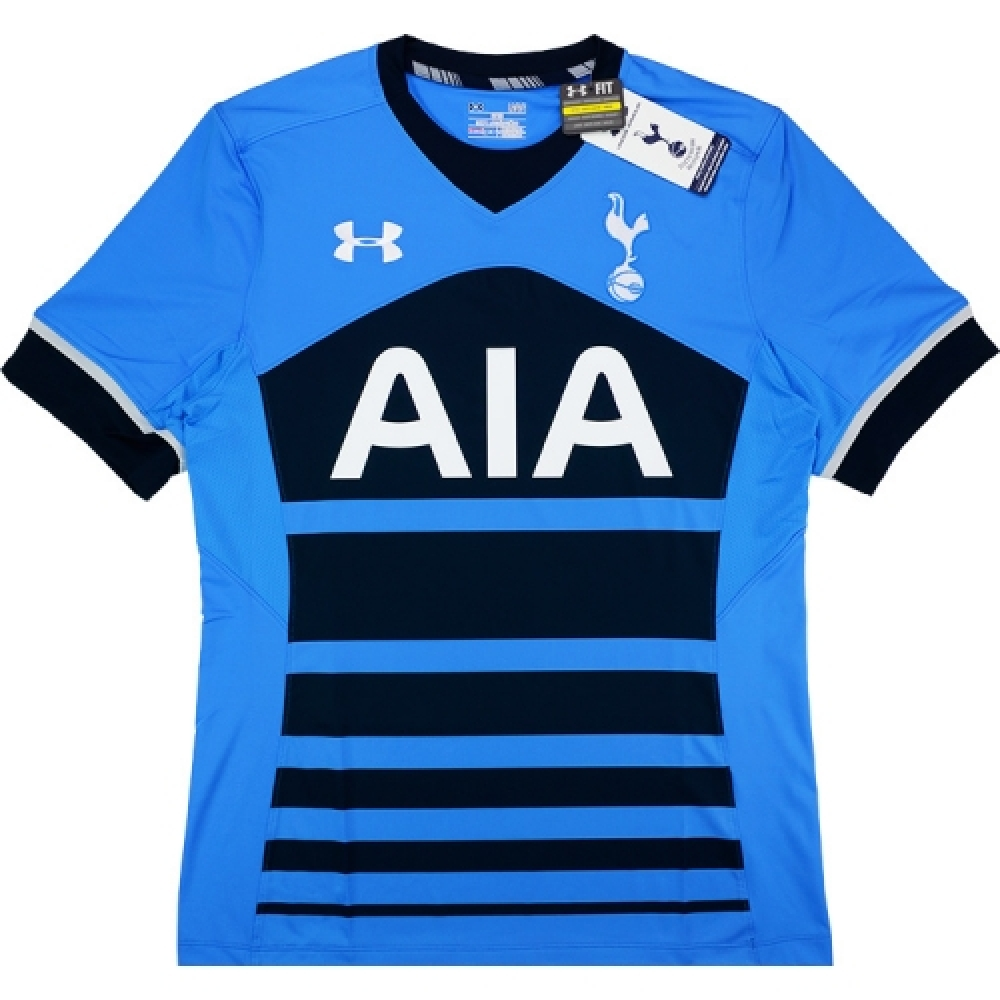2015-16 Tottenham Hotspur Under Armour Authentic Away Football Shirt