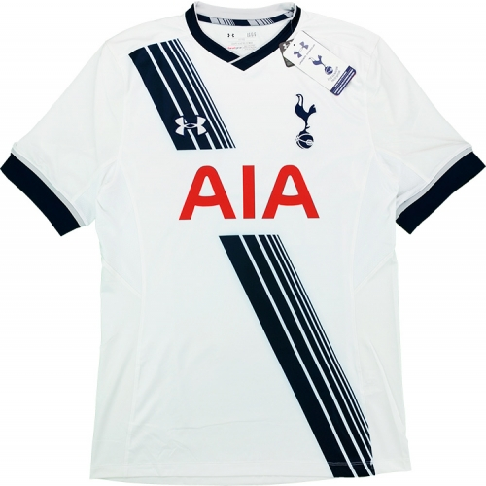 2015-16 Tottenham Hotspur Under Armour Authentic Home Football Shirt