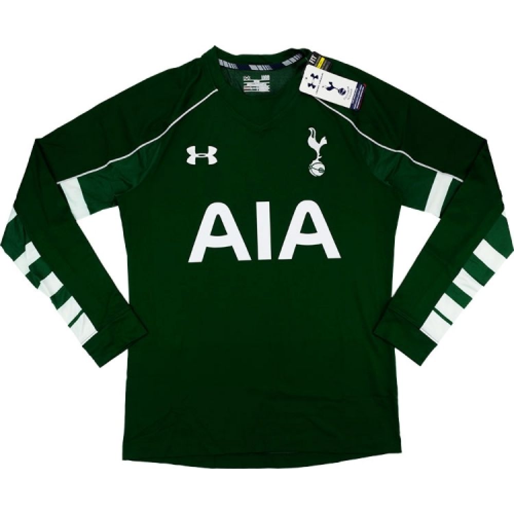 2015-16 Tottenham Hotspur Under Armour Authentic Home Goalkeeper Shirt