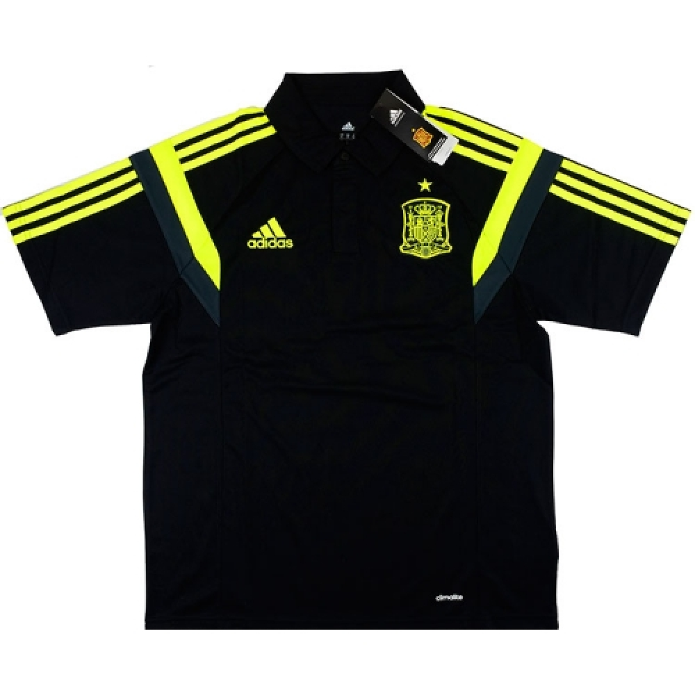 Adidas Wc 2014 Brazil Polo Shirt Yellow Xl
