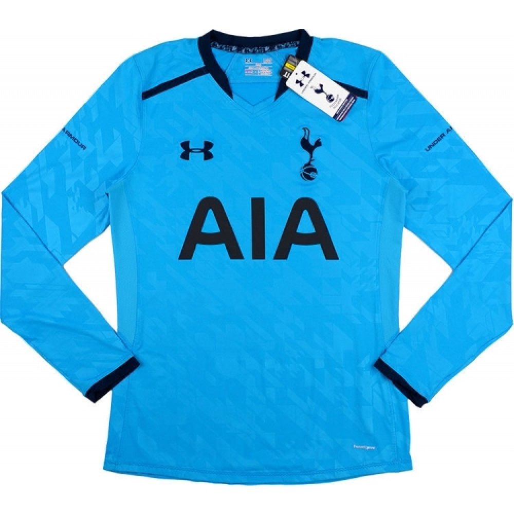 2013-14 Tottenham Hotspur Under Armour Authentic Away Long Sleeve Football Shirt