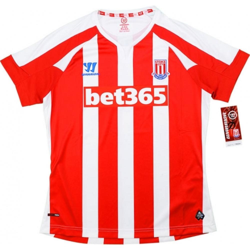 2014-15 Stoke City Warrior Home Women Football Shirt