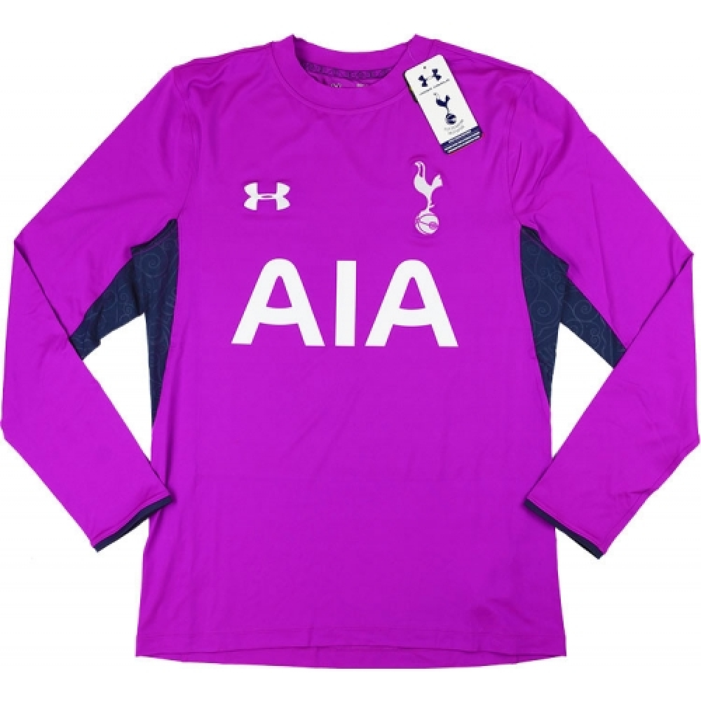 2014-15 Tottenham Hotspur Under Armour Authentic Home Goalkeeper Shirt