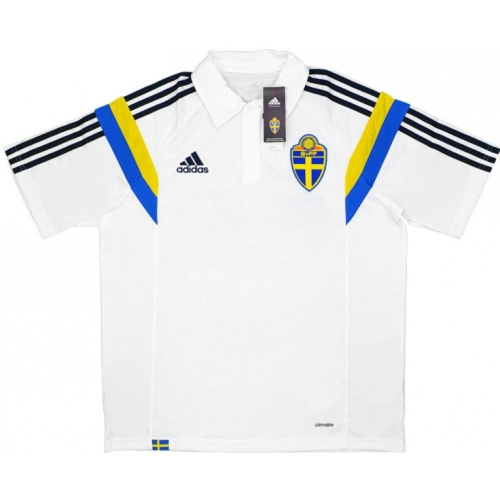 Adidas wc 2014 brazil polo shirt yellow xl for Spain polo shirt 2014