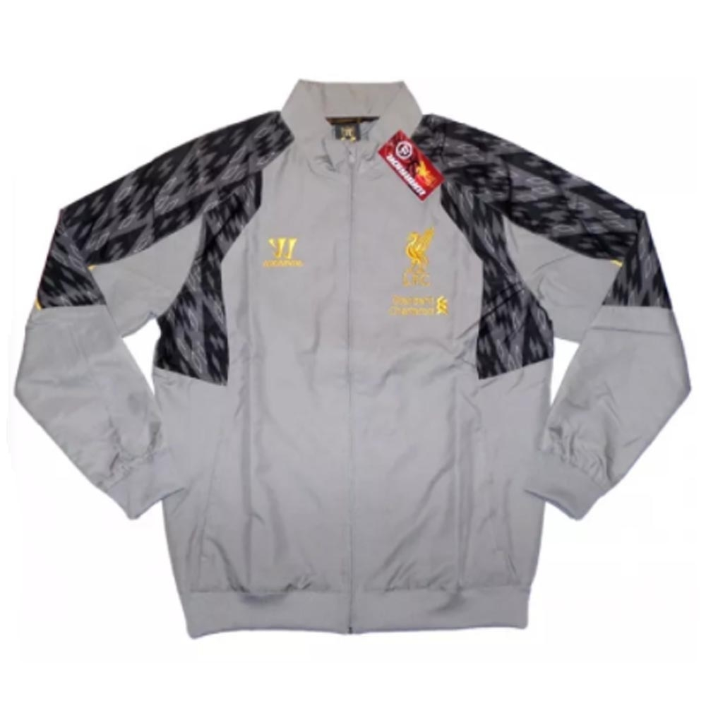 2013-14 Liverpool Warrior Presentation Jacket