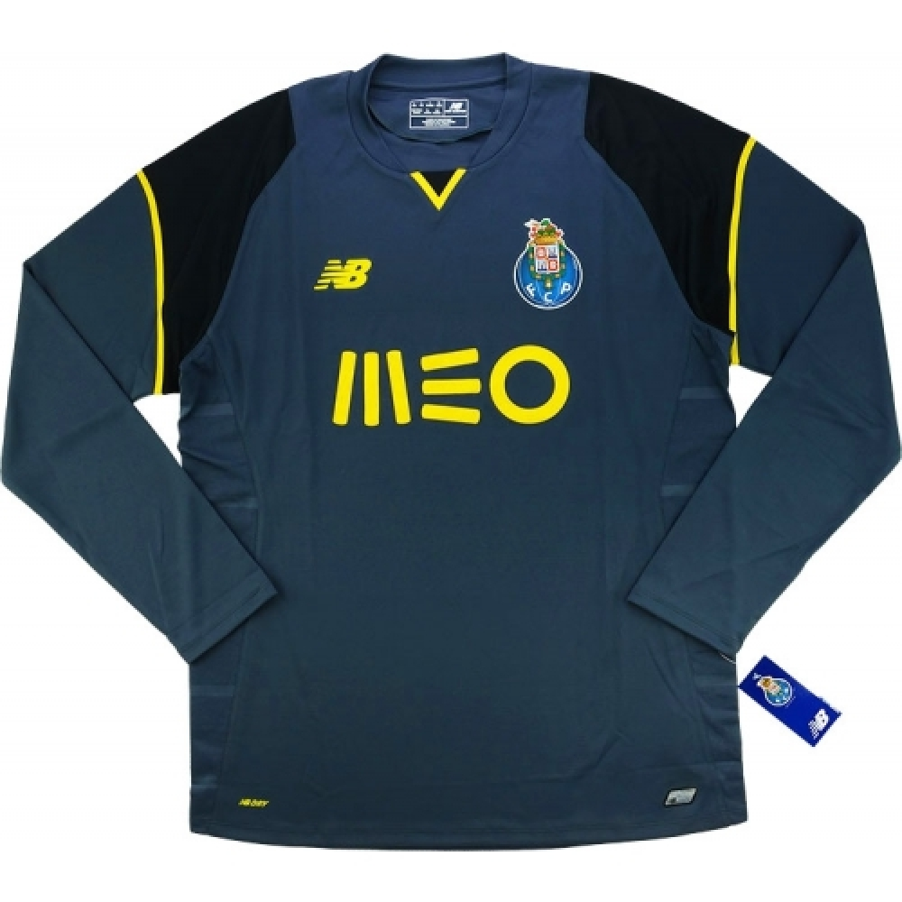 watch e3348 4c9ab 2016-17 FC Porto Goalkeeper Third Long Sleeve Goalkeeper Shirt