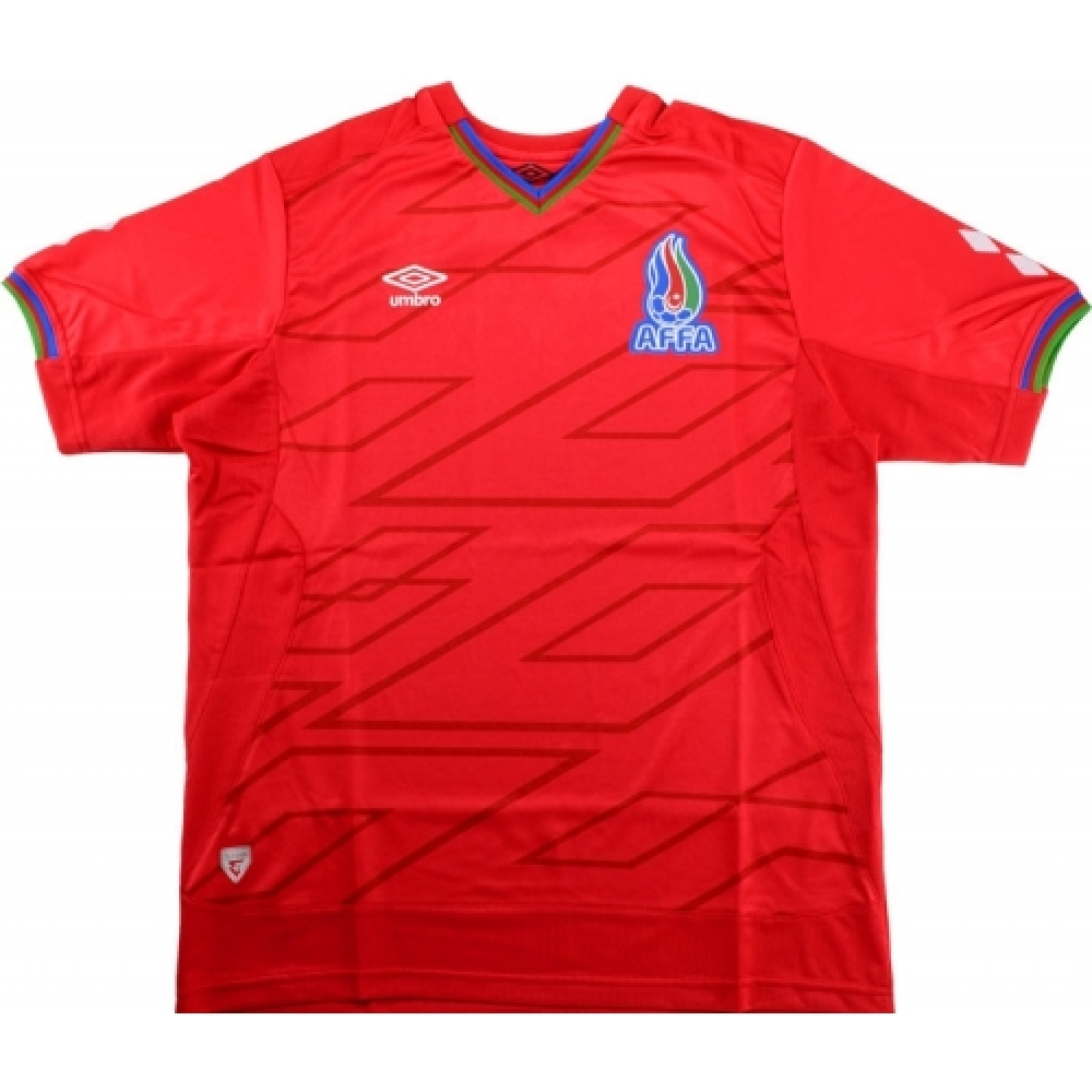 2015-16 Azerbaijan Umbro Away Football Shirt