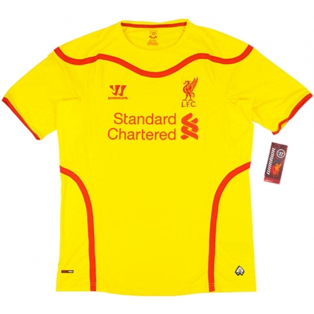2014-15 Liverpool Warrior Away Football Shirt