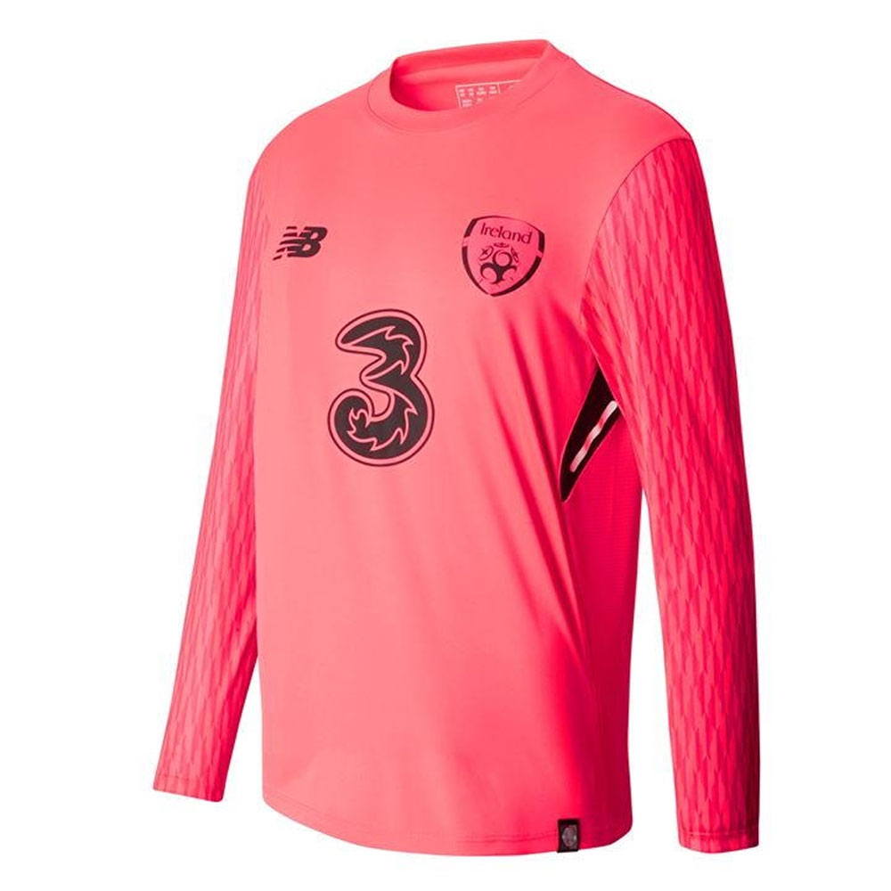 2017-18 Ireland New Balance Home Goalkeeper Shirt (Kids)