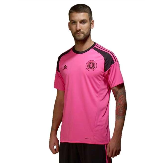 20162017 Scotland Away Adidas Football Shirt