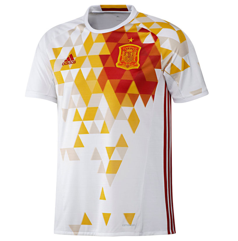 best service a1f86 4f06a 2016-2017 Spain Away Adidas Football Shirt  AA0830  - Uksoccershop